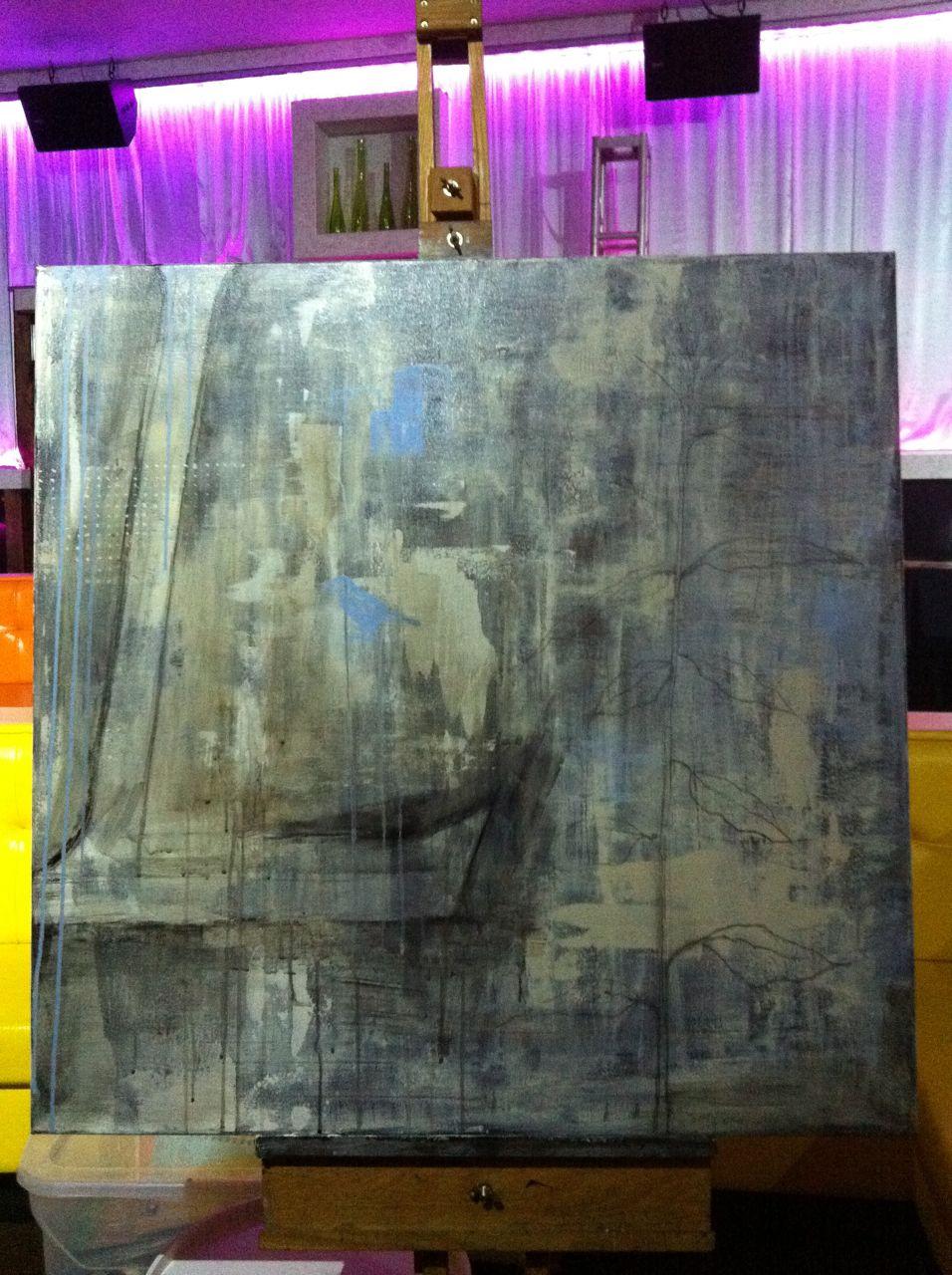 Live Art at ArtceteraIV charity auction