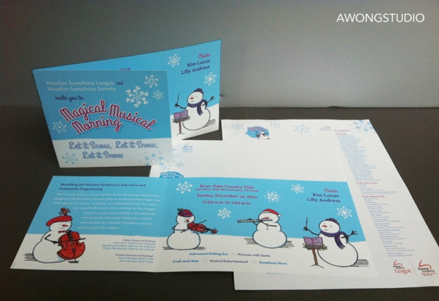 Let It Snow Invitation